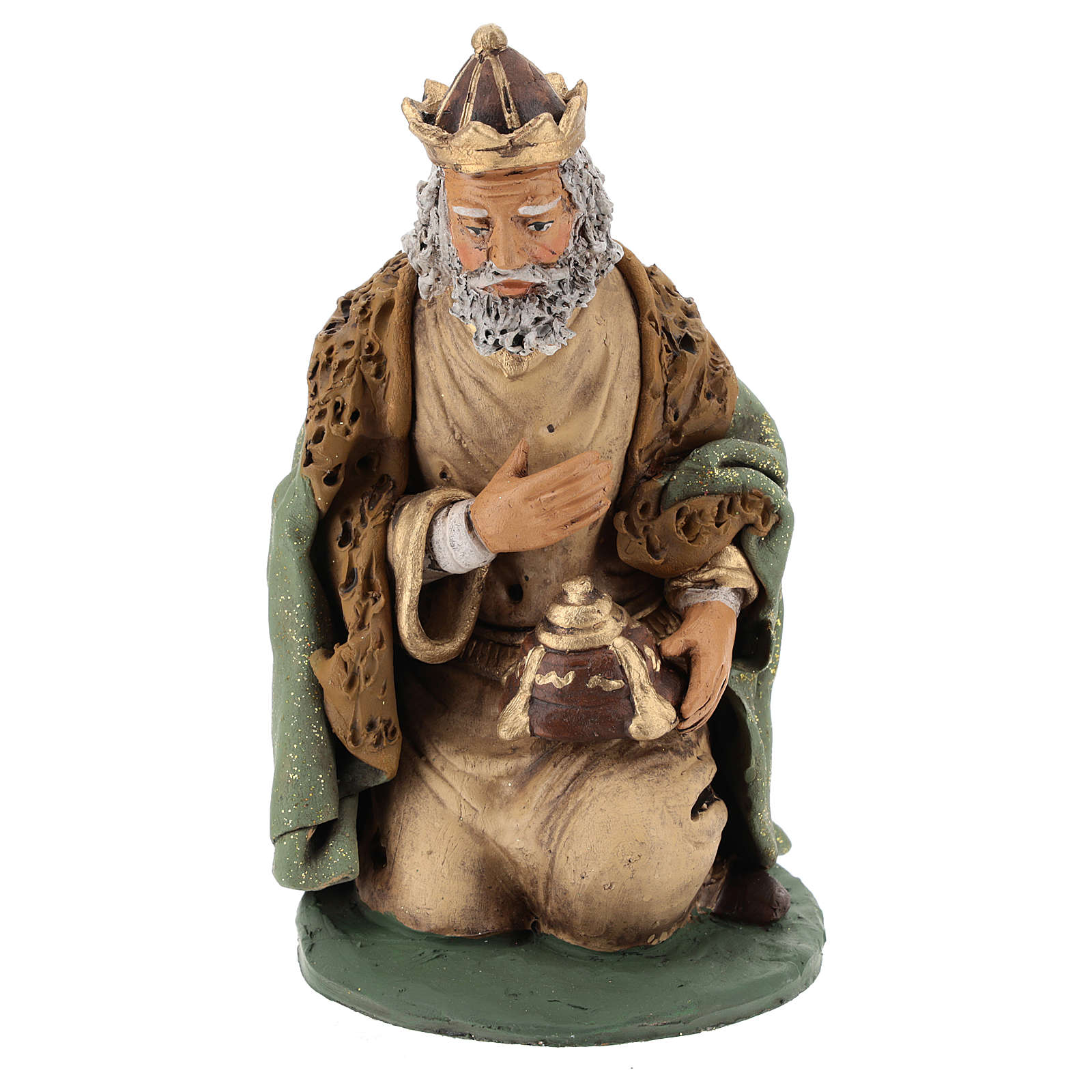 Nativity Scene figurines, Wise men 30cm Deruta 4