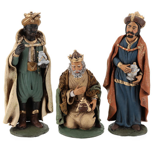 Nativity Scene figurines, Wise men 30cm Deruta 1