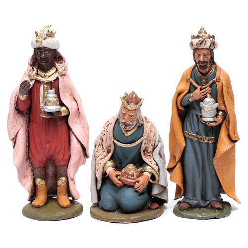Reyes Magos Belén Deruta 30 cm terracota 1