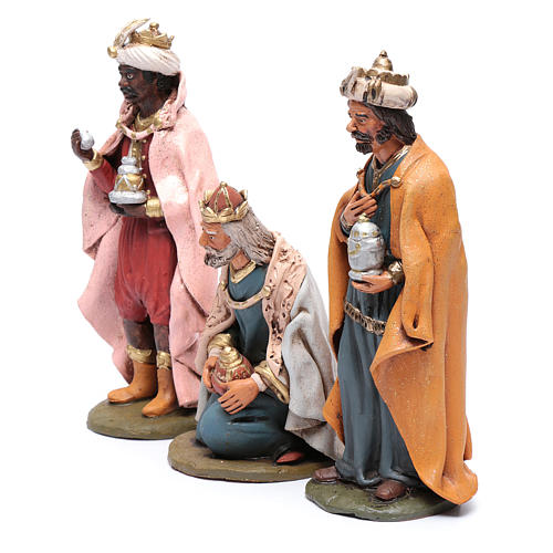 Nativity Scene figurines, Wise men 30cm Deruta 2
