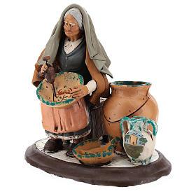 Nativity Scene figurine, potter 30cm Deruta s3