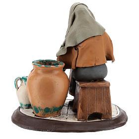 Nativity Scene figurine, potter 30cm Deruta s5