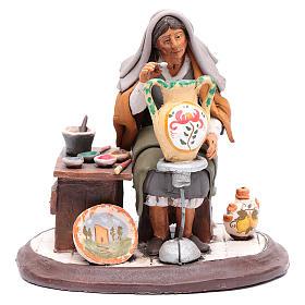 Nativity Scene figurine, potter 30cm Deruta s1