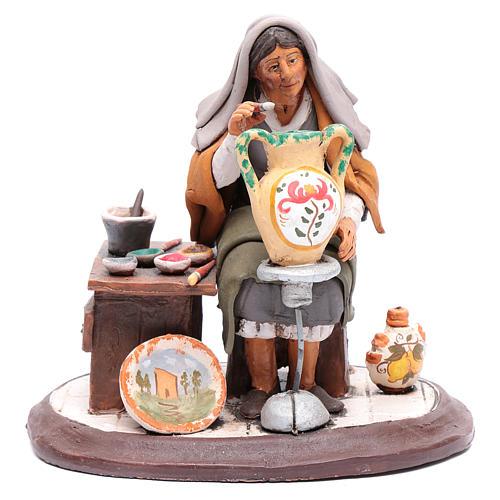 Nativity Scene figurine, potter 30cm Deruta 1