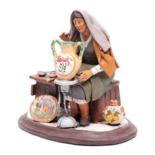 Nativity Scene figurine, potter 30cm Deruta 2