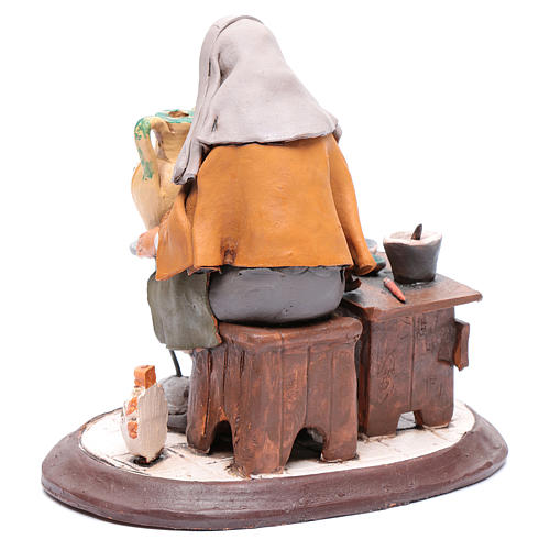 Nativity Scene figurine, potter 30cm Deruta 3