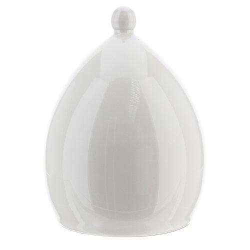 Modern stable with white ceramic Sacred Family set 18 cm Deruta 4
