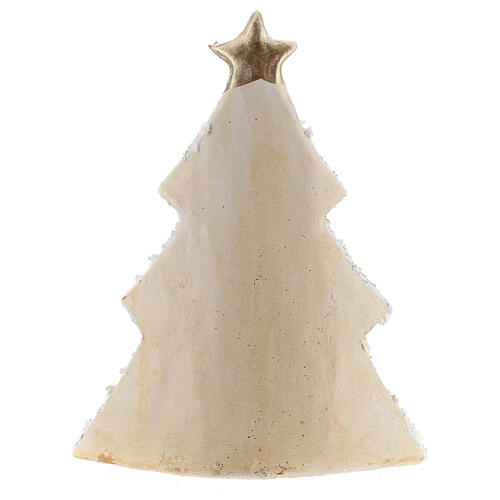 Holy Family Christmas tree decoration in Deruta terracotta with glitters 19 cm 4