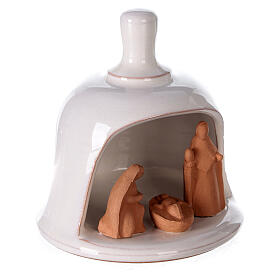 Presépio mini sino terracota bicolor Deruta 10 cm s3