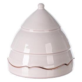 Nativité sapin ouvrant santons terre cuite Deruta 10 cm s3