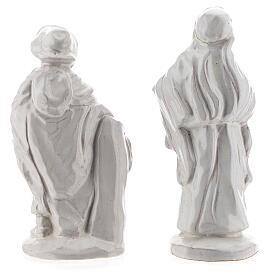 Belén 15 piezas terracota blanca Deruta 20 cm s8