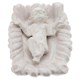 Belén Natividad 40 cm terracota blanca Deruta 5 piezas s2