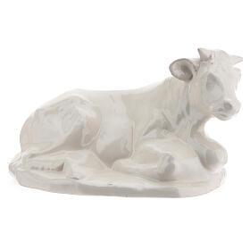 Crèche céramique blanche Nativité 5 pcs 50 cm Deruta s7