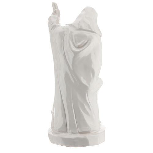 Presepe ceramica bianco Natività 5 pz 50 cm Deruta 10