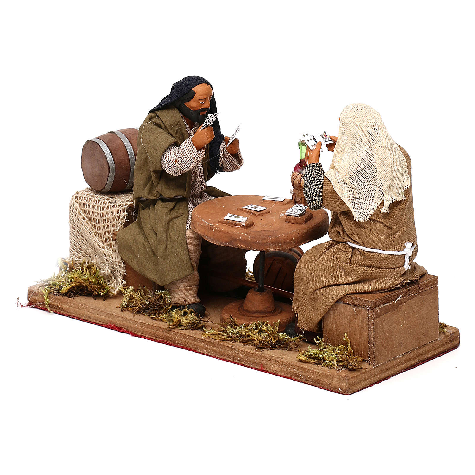 Animated nativity scene, players 12 cm 4