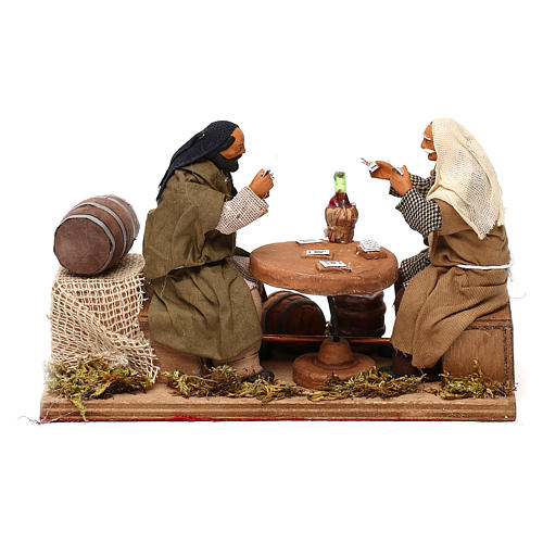 Animated nativity scene, players 12 cm 1