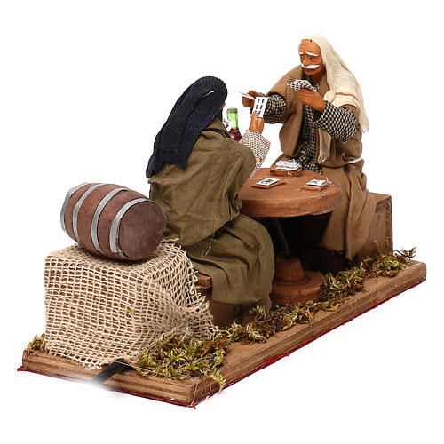 Animated nativity scene, players 12 cm 3