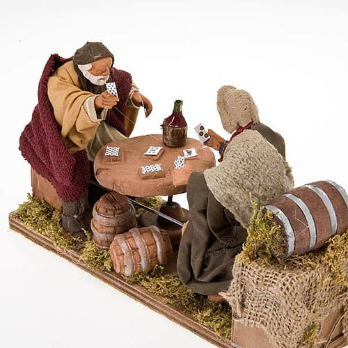 Animated nativity scene, players 12 cm 3