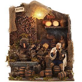 Animated nativity scene,  drunkard scene 12 cm s8