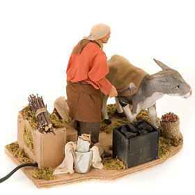 Animated nativity scene figurine, farrier 14 cm s4