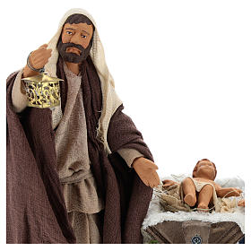 Animated Neapolitan Nativity set, 14 cm s2