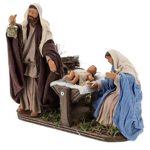 Animated Neapolitan Nativity set, 14 cm 3