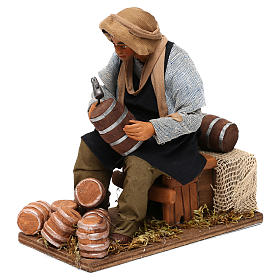 Animated nativity scene, cooper 24 cm s2