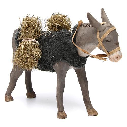 Animated Nativity Scene figurine, donkey 24 cm 3