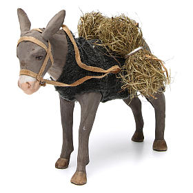 Animated Nativity Scene figurine, donkey 24 cm s2