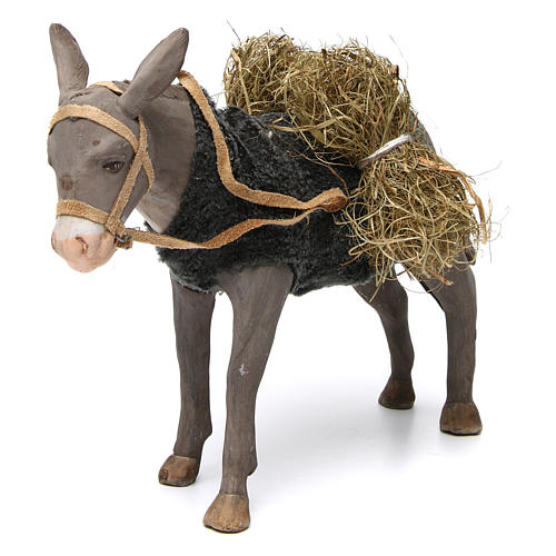 Animated Nativity Scene figurine, donkey 24 cm 2
