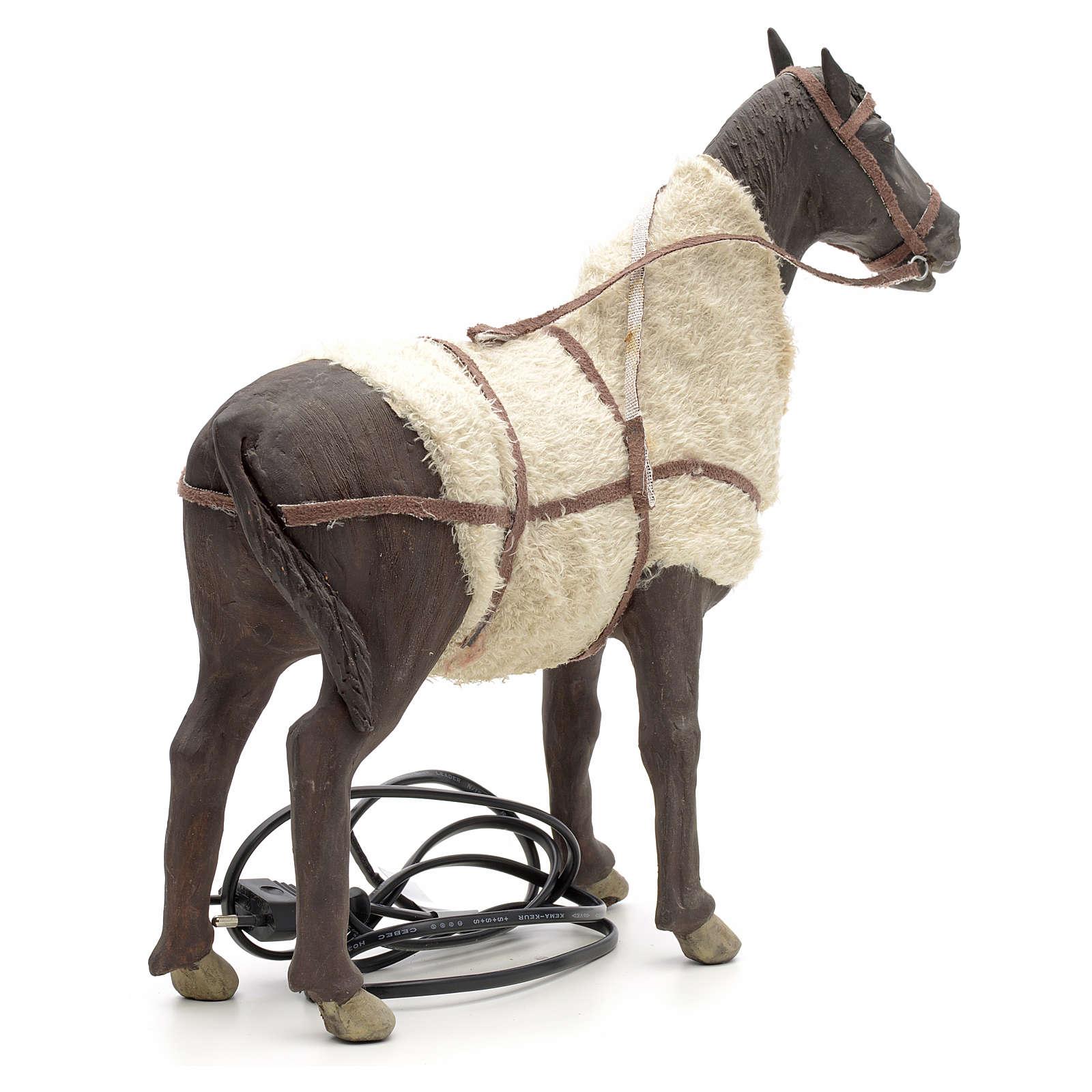 Animated Nativity Scene figurine, horse 24 cm 4