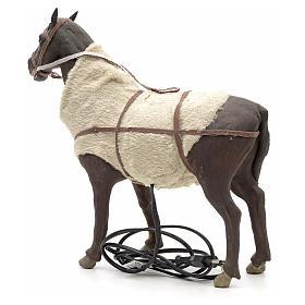 Animated Nativity Scene figurine, horse 24 cm s6