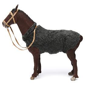 Animated Nativity Scene figurine, horse 24 cm s1