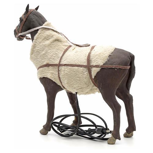 Animated Nativity Scene figurine, horse 24 cm 6