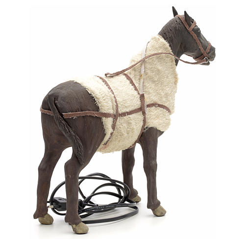 Animated Nativity Scene figurine, horse 24 cm 7
