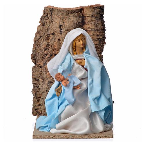 Virgen María de 30 cm. movimiento belén 1