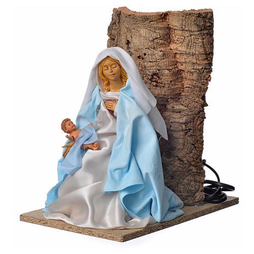 Virgen María de 30 cm. movimiento belén 2