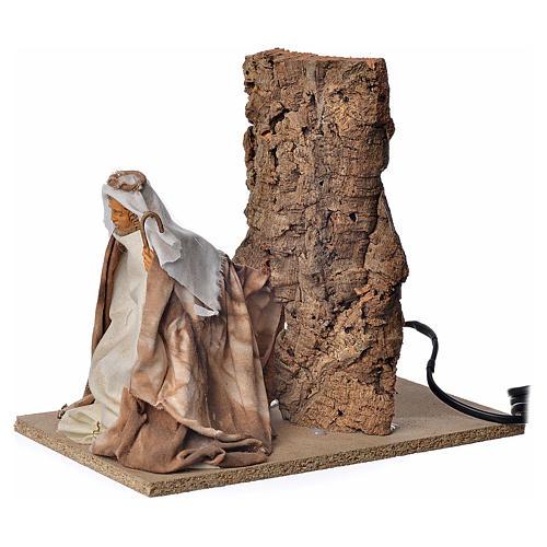 Animated nativity scene figurine, Saint Joseph, 18 cm 2