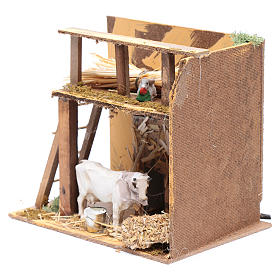 Animated nativity figurine, cow, 7cm s2