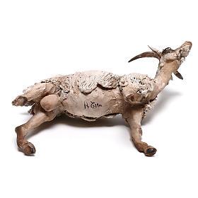 Shepherd with donkey, 8cm animated nativity s6