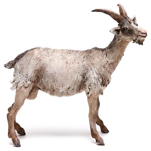 Shepherd with donkey, 8cm animated nativity 1