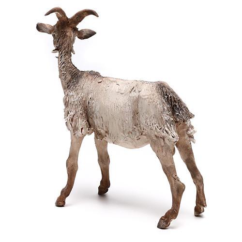 Shepherd with donkey, 8cm animated nativity 5