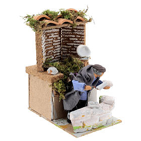 Builder, 8cm animated nativity s3