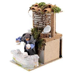 Builder, 8cm animated nativity s2