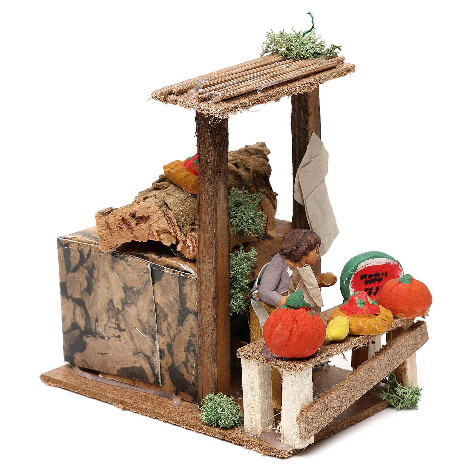 Fruit seller, 7cm animated nativity 3