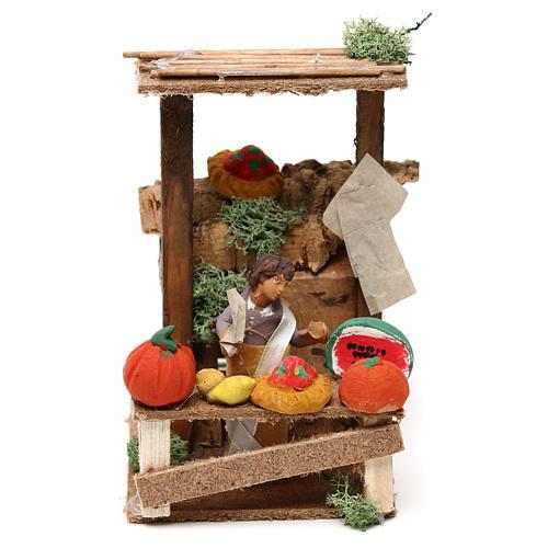 Fruit seller, 7cm animated nativity 1