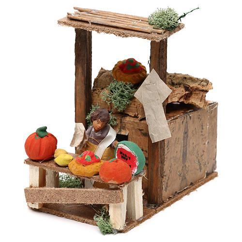 Fruit seller, 7cm animated nativity 2