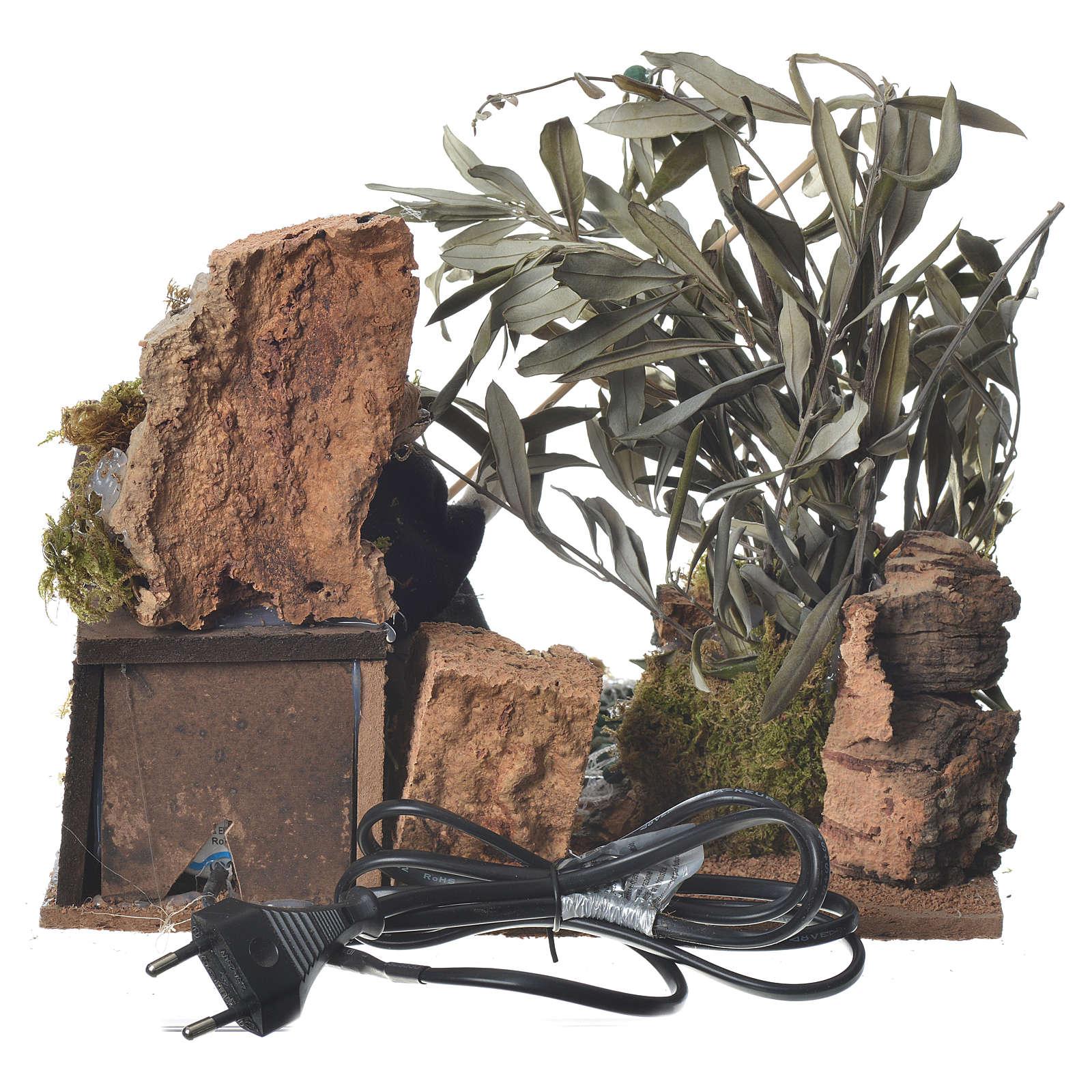 Batteur d'olives 12 cm mouvement crèche 3
