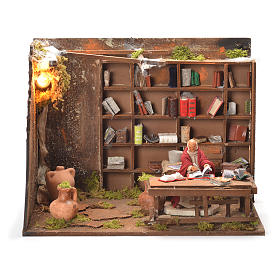 Bookshop, Neapolitan Nativity 12cm s1