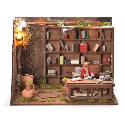 Bookshop, Neapolitan Nativity 12cm 1